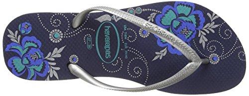 Organic 0555 Blu Havaianas Donna Infradito Slim OqwycRWT5