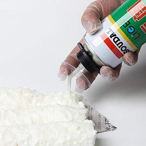 HAPY SHOP 24 Pieces Spray Foam Replacement Tubes Nozzle,Gap Filling Insulating Foam Spray Replacement Tube,Clear Foam Tube,Spray Foam Nozzles for DIY Spray Foam