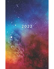 2022: Weekly Planner Week To View   5 x 8 Dated Agenda   Monday Start Appointment Calendar   Organizer Mini Book   Soft-Cover Universe