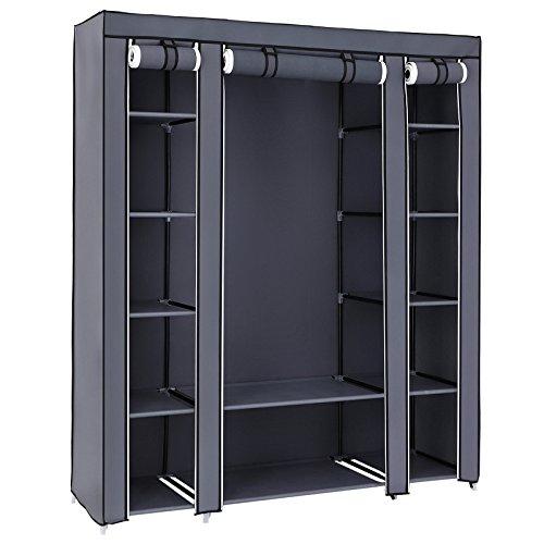 Free Standing Closet Wardrobe Amazon Com