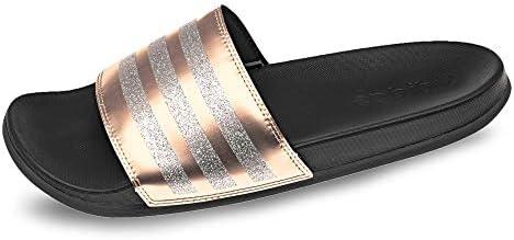 adidas adilette rose gold