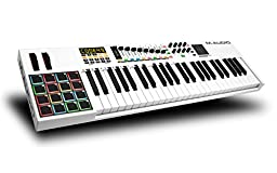M-Audio Code 49 | 49-Key USB MIDI Keyboard Controller with X/Y Touch Pad (16 Drum Pads / 9 Faders / 8 Encoders)