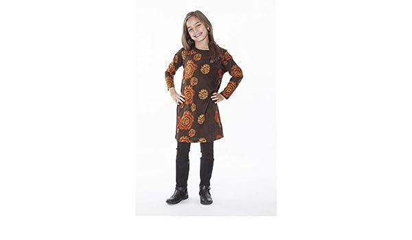 Falda para la danza flamenco o sevillanas, talla de niña 4. Tejido ...