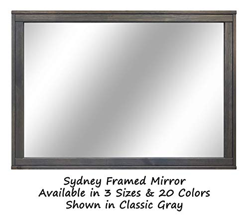 Sydney Rustic Mirror - Vanity Mirror, Bathroom Mirror, Farmhouse Decor, Wood Mirror, -