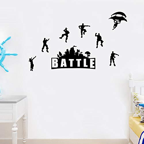 ELion Fortnite Wall Decor Peel & Stick Poster Decals 21x15 Inch by ELion (Image #5)