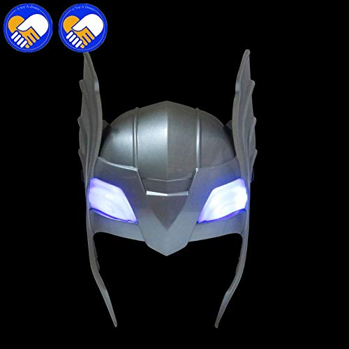 2018 LED Glowing and Sounds Hammer Mask for