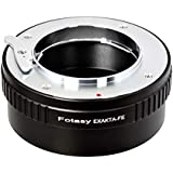 Fotasy Exakta Lens to Sony FE Mount Adapter, Exakt to FE, Auto Topcon Lens to FE Adapter, fits Sony a7 a7 II a7 III a7R a7R II a7R III a7S a7S II a7S III a9 a7R IV a6600 a6500 a6400 a6300 a6100 a6000
