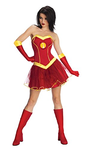 Best Superhero Couple Costumes (Secret Wishes Women's Marvel Universe Rescue Costume Tutu Dress, Multicolor, Large)