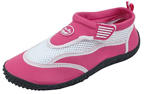 Fuchsia with Shoes Water Women's starbay Strap On Slip Velcro New O7qUz