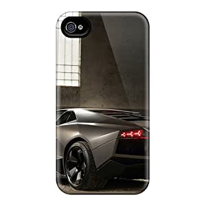 ZyqFxHQ3171RlfQQ Reventon Lambo Fashion Tpu 4/4s Case Cover For Iphone