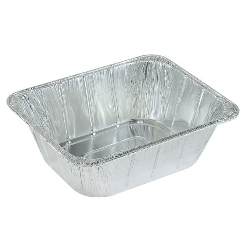 Nicole Home Collection 00514 Aluminum Extra Deep Pan, 4 1/8'', 1/2 Size (Pack of 100)