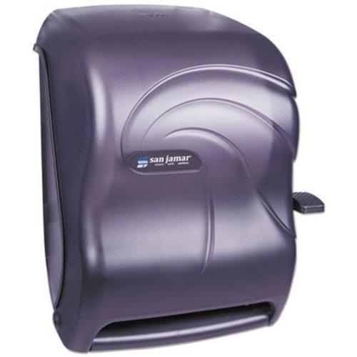San Jamar T1190TBK Oceans Paper Towel Dispenser, Roll, Black Pearl