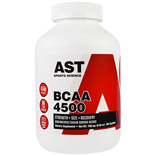 AST Sports Science, BCAA, 4500, 462 Capsules - 2pc