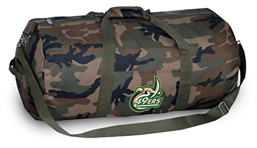 University of North Carolina Charlotte CAMO Duffle Bag UNCC Duffel Suitcase Luggage North Carolina Charlotte Soccer
