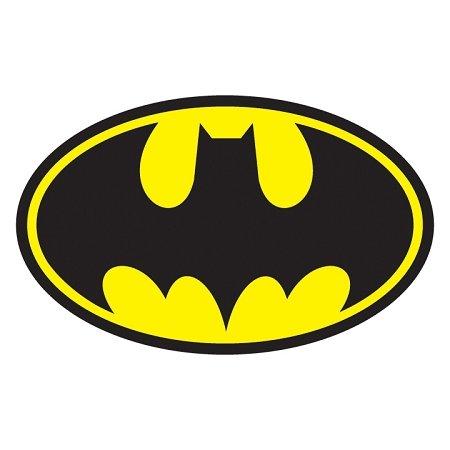 Retro Batman vinyl Decal Sticker | Cars Trucks Vans Walls Laptops | Printed | 6 X 3.75 inch | (Batman Bold Justice Peel)