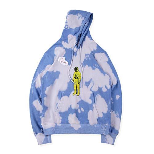 AXIN Hoodie Tie Dyeing Travis Scott Tour Astronaut Logo ASTROWORLD Hoodies 2019 Men Women Pullover Sweatshirts,Styleb,XL (Best Women's Hoodies 2019)