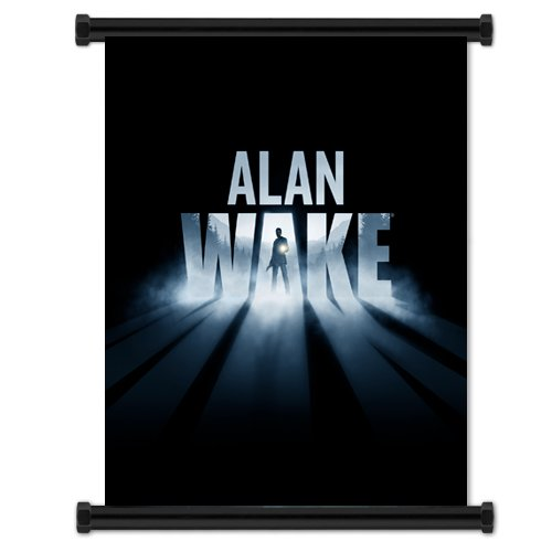Alan Wake Video Game Fabric Wall Scroll Poster  Inches