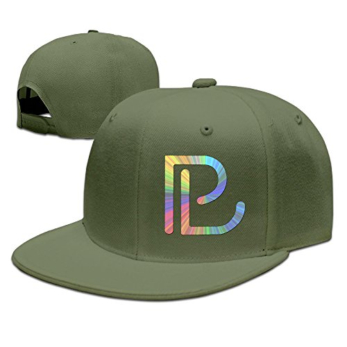 McBr American Electronic Music Producer Flat Bill Snapback Adjustable Trucker Hats ForestGreen (Pretty Lights Grinder compare prices)