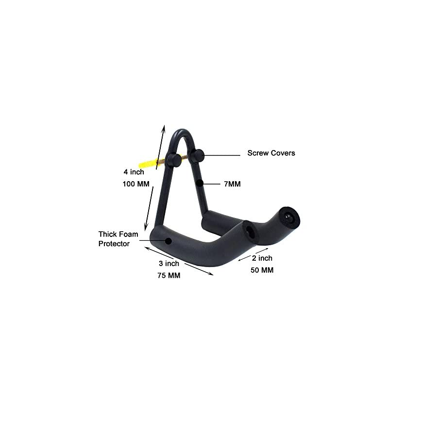 YYST Vertically Ski Wall Mount Ski Wall Hanger Wall Rack Fit Most Boards Black