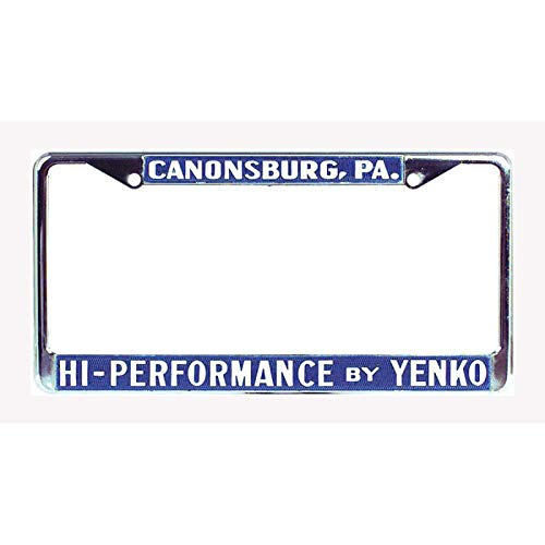 - Eckler's Premier Quality Products 50-342555 Chevelle Yenko License Frame, High Performance By Yenko
