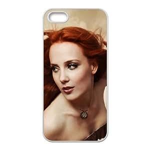 simone simons iPhone 5 5s Cell Phone Case White Customized Items zhz9ke_7319702