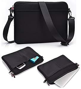 NuVur &153; Slim Carrying Case/Bag|Black,Shoulder Strap|for HP Voodoo EBVY133 NV4080NA