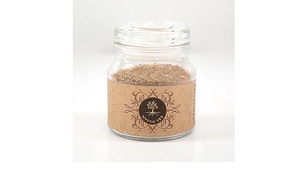 Mystic Ved - Arcilla de chocolate y caolín natural con cara de grasa suave (100 g): Amazon.es: Belleza