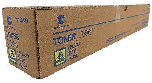 Konica Minolta Part # TN-319Y OEM Yellow Toner Cartridge - 26.000 Pages (A11G230) ()