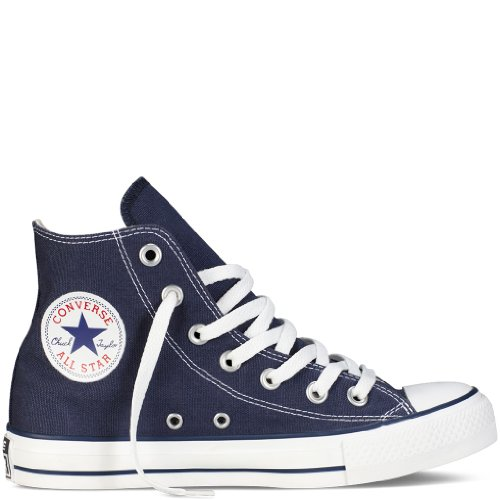 Converse Unisex Chuck Taylor All Star Hi Top Navy M9622, US Men 10
