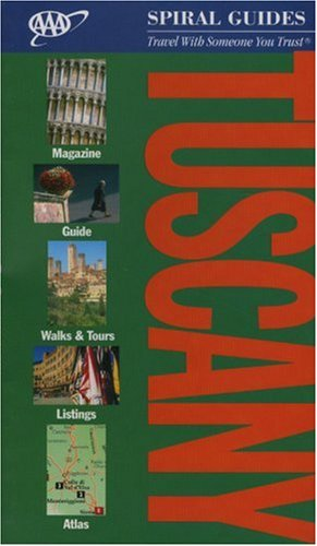 Tuscany Spiral Guide (AAA Spiral Guides) -