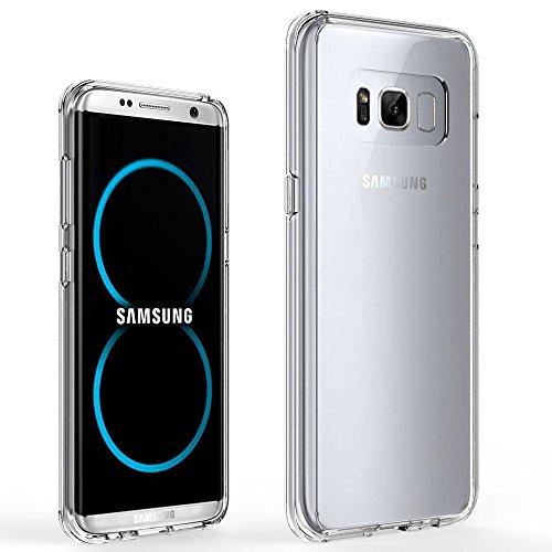samsung s8 plus clear gel case