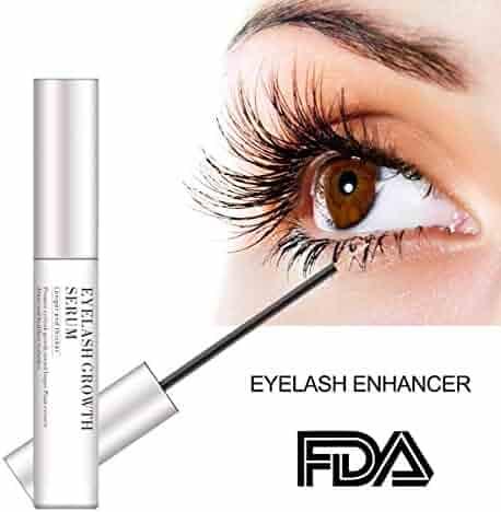 e1703c96cc7 Eyelash Enhancer Serum, Eyelash & Brow Growth Serum Natural Super Beauty  Eyelashes Liquid (clear