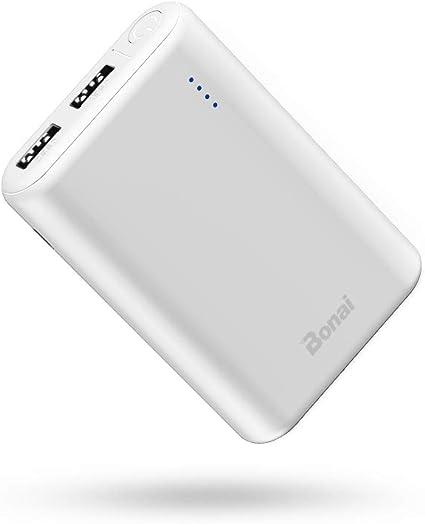 BONAI Power Bank 7800mAh Mini Bateria Externa Carga Rápida 5V/2.1A ...