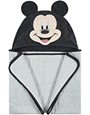 """Disney Baby Mickey Mouse Hooded Character Towel, Blue, 26"""" x 30"""""""