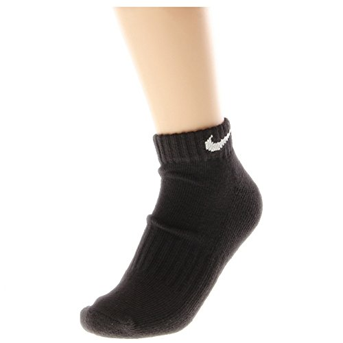 Nike Men's Performance Cotton Cushioned Low-Cut Socks Large