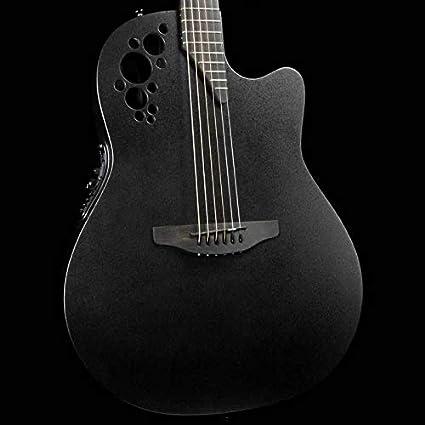Guitarra eléctrica acústica Ovation Amerian de 6 cuerdas, derecha ...
