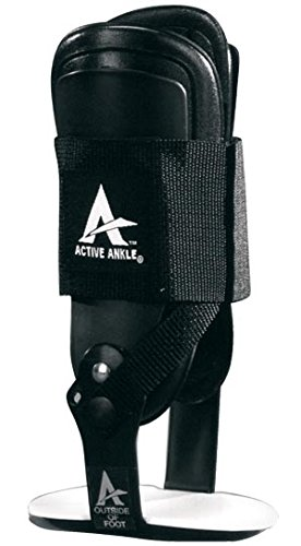 T2 Ankle Brace - Cramer TRT230 Active T2 Ankle Brace, Men's 9-12, Women's 10-13, Medium, Black