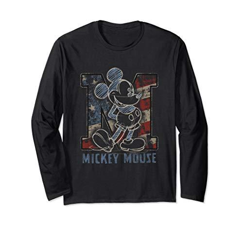 Disney Americana Mickey Sketch Long Sleeve T-shirt