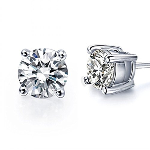 sunbu-925-sterling-silver-round-cz-stud-earrings-inlaid-4mm-7mm-available