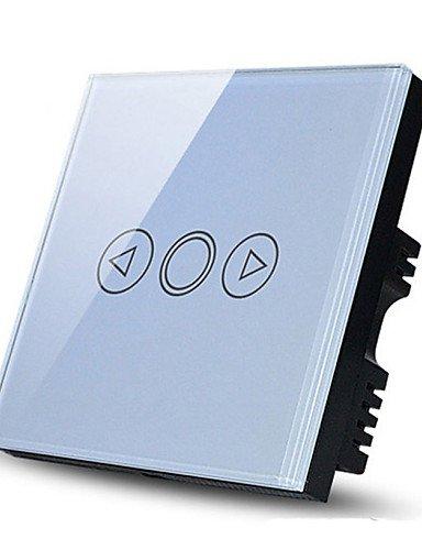 Touchdimmer Lichtschalter, EU-Standard, Glasscheibe Wandber¨¹hrungsschalter