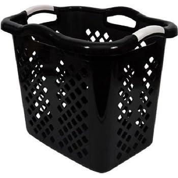 Amazon Com Starplast Tall Flex Laundry Basket In White