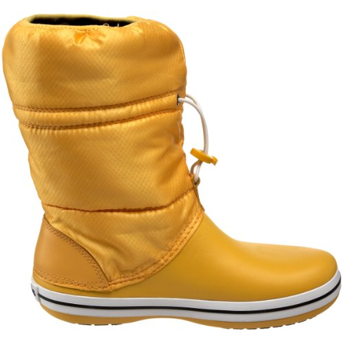 crocs Crocband Winter Boot 11035 Damen Stiefel Canary/Canary