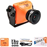 RunCam Eagle 2 FPV Camera 4:3 Global WDR 800TVL 2.5mm Lens Aluminium NTSC PAL True Starlight For Drone Quadcopter (Orange)