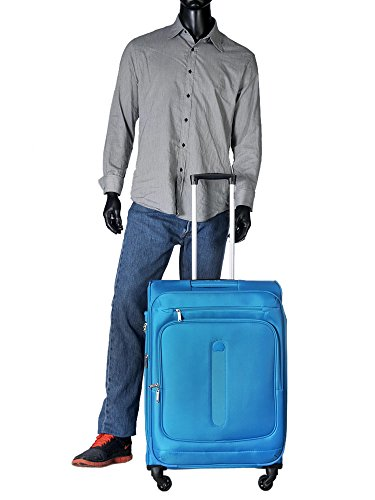 Delsey Manitoba luggage Trolley Esp 4R 68 light blue