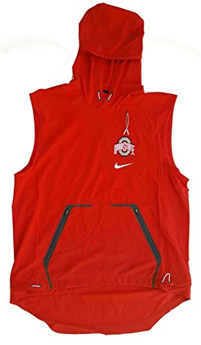 Nike Men's Ohio State Buckeyes Alpha Fly Rush Sideline Vest 845839-657 (Large) Scarlet by NIKE