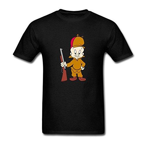 kettyny-mens-elmer-fudd-design-cotton-t-shirt