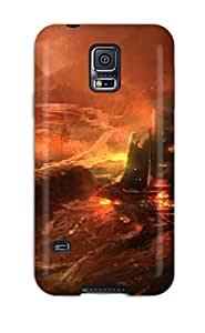 Fashion Tpu Case For Galaxy S5- Halo Defender Case Cover