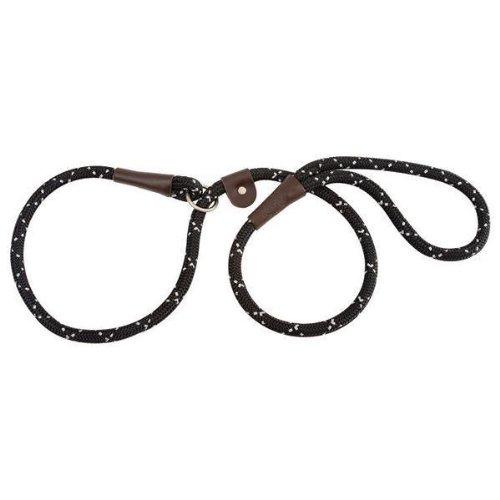 Night Viz Reflective Slip Lead – Black – 6′, My Pet Supplies