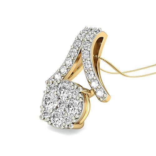 PC Jeweller The Idina 18KT Yellow Gold   Diamond Pendant
