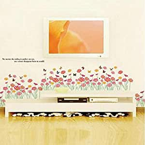 DIY Removable Wall Stickers For Living Room Home Decor - Floret